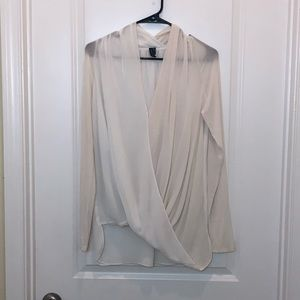 Marciano Off White Blouse Size S